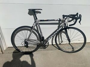 Cannondale Six/13-Campagnolo Chorus 11 Speed-Campy Nucleon Whls -Compact 50/34