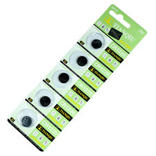 5 PCS CR1220 Lithium Battery 3V Button Cell Watch Remote US free shipping