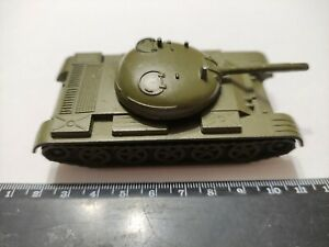 Soviet russian USSR vintage original diecast military toy TANK