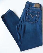 Levis Skinny Jeans para Mujer Talla 10S Azul W28 L29 Demi Curve Tiro Bajo (EUR 36S)
