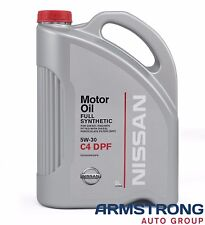New Genuine Nissan Full Synthetic Total 5W-30 C4 DPF Diesel Oil