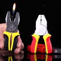 1PCS Novel Funny Pincer Pliers Butane Gas Lighter Windproof Lighter Gift NO21