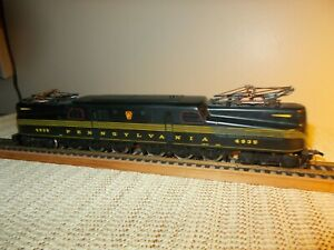 "1970's RIVAROSSI GG-1 SPECIAL EDITION PRR LOCOMOTIVE ""BLACKJACK"", #381"