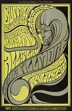 Buffalo Springfield POSTCARD Steve Miller Blues Fillmore BG61 Wes Wilson