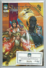 Aspen Comics Michael Turner's Soulfire #1A and #1B Signed Limited New 2004 Set