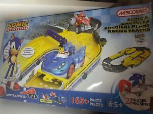 Sonic the Hedgehog - Meccano - Sonic & Knuckles - Chemical Plant Racing Track
