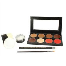 Mehron Mini-Pro Student Makeup Kit with CreamBlend Base Medium Dark/Dark