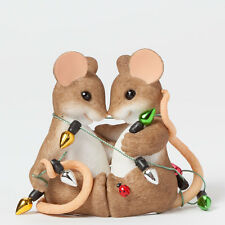 Charming Tails So Glad We're Together Mouse Figure New 4041188 Love Christmas