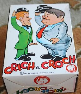 VINTAGE LAUREL AND HARDY CRICH E CROCH RUBBER PLASTIC DOLL