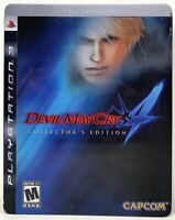 Devil May Cry 4 Collector's Edition Steelbook (PlayStation 3 PS3, Incomplete)