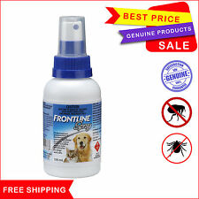 Frontline Spray for Dogs & Cats Flea & Tick control treatment by Merial 100 mL