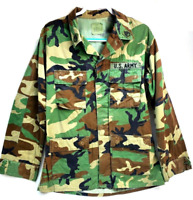 US Army BDU's Shirt and Pants Woodland BDU  Medium Long Camouflaged