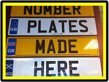 Placas de registro de placas de número de remolque y mostrar placas todas las fuentes de carbono 3D
