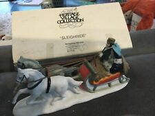 "Department 56 Heritage Village Collection-""Sleighri de"" # 6511-0 In Box"