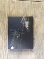 Final Fantasy XV 15 FFXV + Kingsglaive Ultimate Collectors Edition G2 STEELBOOK!
