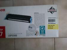 Canon EP-707 - ORIGINAL Toner Jaune (pour Laser Shot LBP-5000) i-sensys LBP5000
