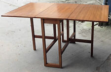 Teak Up to 6 Seats Kitchen & Dining Tables with Drop Leaf