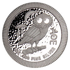 2017 Niue 1 Troy oz .999 Silver Athenian Owl $2 Uncirculated Coin SKU45830