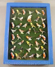 106265, Sammlung Konvolut Lot, 43 WHW Abzeichen, Vögel Adler, Porzellan