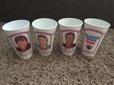 NFL Players Superstars Series 1986 Drinking Cups Vintage NEW Football Old School