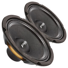 "Pair PRV Audio 6MB250-NDY 6.5"" Neodymium Midbass Woofer Speaker 8ohm 95dB 1.5""C"