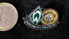 Fussball Pin Badge Werder BremenCD Nacional Madeira Europa League 2009
