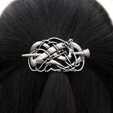 Vikings Dragon Hairpins Metal Stick Slide Barrette Hair Clips Vintage Hair Jewel
