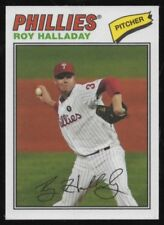 2012 TOPPS ARCHIVES CLOTH STICKERS #RH ROY HALLADAY – NM-MT (8)+