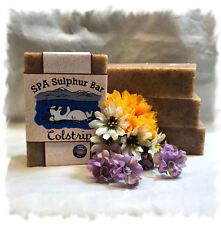 Apricot Exfoliating  SPA Sulphur Mineral  Soaps Made in Montana