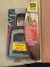 Master Lock 5400 D SafeSpace Portable Lock Box New
