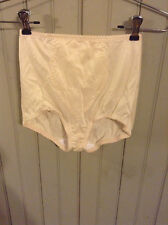 Wow! Vintage Hanes tan Her Way large panty girdle