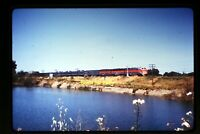 1973 Duplicate Slide of WP California Zephyr at Fremont, CA in 1969  aa 3-27a
