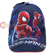 The Amazing Spider Man Hat Spiderman Boys Baseball Cap -Sling Web