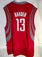 Adidas Swingman NBA Jersey Houston Rockets James Harden Red sz L