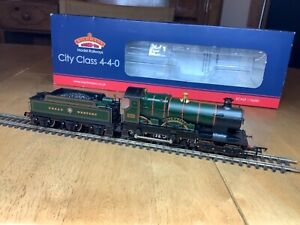 Bachmann 31-726 GWR Garter Crest 4-4-0 City Class 3433 City of Bath