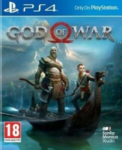 God of War PS4 New and Sealed PEGI 18