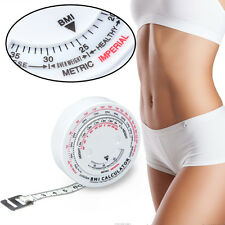 150cm Retractable Accurate Caliper Measuring Tape Body Weight Loss Measure NEW