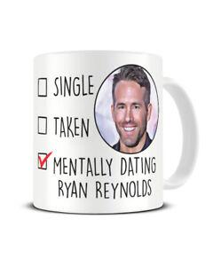 Ryan Reynolds Mug Coffee Cup Gift Ideal for Birthday Christmas for Her Mug Gift