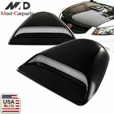 MAD Universal JDM Style Decorative Hood Scoop Black Air Flow Intake Cover HS26
