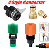 Universal Kitchen Mixer Tap To Garden Hose Pipe Connector Adapter Tools Sets UK