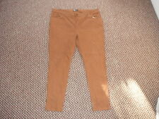 """Yes Yes Classic Fit Jeans Ladies W46"""" L32"""" Faded Brown Ladies Jeans"""