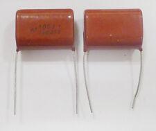 10pcs CBB21/CL/CBB22 Metallized Film Capacitor 1uF 105J 630V ±10% NEW A+