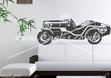 Vinyl wall art decal Austin Seven 7 Ulster VSCC extra large XL