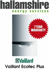 INSTALLED VAILLANT 832 ECOTEC PLUS 32kw 7 YEAR WARRANTY COMBI BOILER FREE STAT