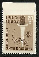 DOMINICAN REP. 1962,  Anti-Malaria  ERRORS Imperf. -  Scott no. B40