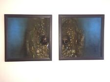 Two paintings with five hundred year old detail artifacts