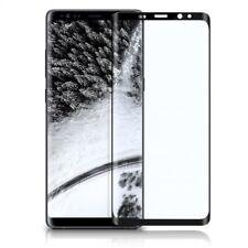 3D Panzerglas Full Cover Displayschutz Samsung Galaxy Note 8 Echt Glas Schwarz