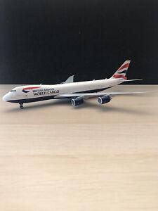 Herpa 1:200 British Airways World Cargo B747-8F G-GSSD 555173