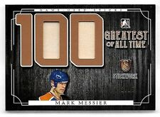 16/17 ITG Stickwork 100 Greatest Of All Time Mark Messier Dual Stick Relic #3/25