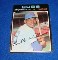 1971 Topps Baseball Billy Williams Card #350 Chicago Cubs
